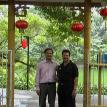 With Raghavendra Shastry at Guangzhou, China